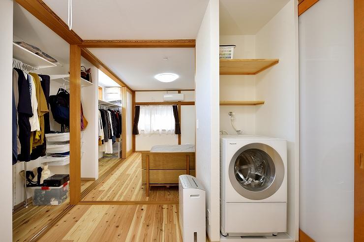 洗濯室と収納